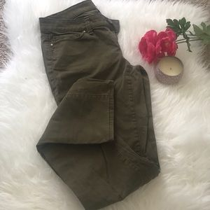 Like New Ann Taylor Moss Green Pants